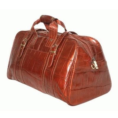 Дорожная сумка Croco Marrone