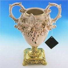Керамическая ваза для цветов Барокко