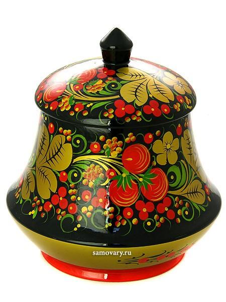 Чайница Хохлома