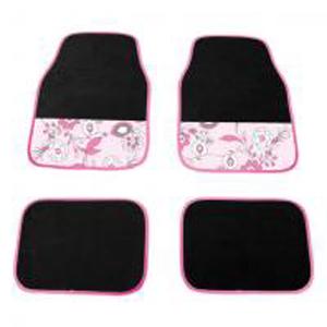 Коврики автомобильные «Розовый цветок»