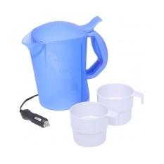 Автомобильный чайник с двумя чашками