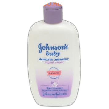 Молочкой детское Johnsons baby перед сном, 300мл
