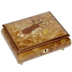 Квадратная шкатулка для ювелирных украшений
