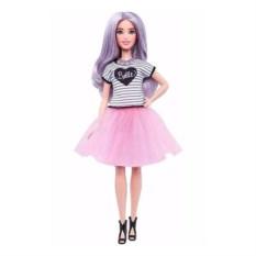 Кукла Mattel Barbie с сиреневыми волсами Игра с модой