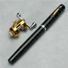 Карманная удочка-ручка Fish Pen с позолоченной катушкой