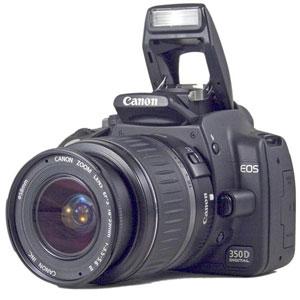 Цифровой фотоаппарат Canon EOS 350D