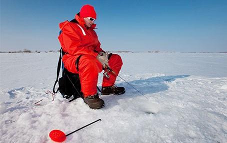 Сертификат Зимняя рыбалка