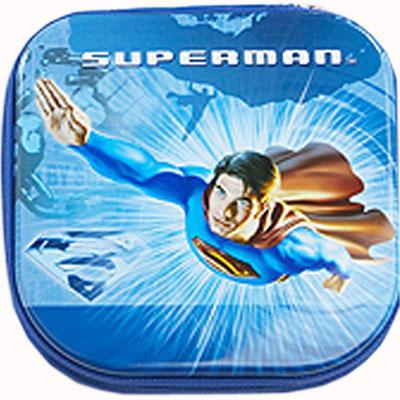 Футляр жестяной для дисков «Супермен»