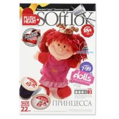 Набор для шитья куклы «Принцесса», Plush Heart (Плаш Хат)