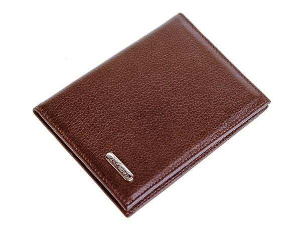 Кожаный бумажник водителя S.QUIRE (темно-коричневый)