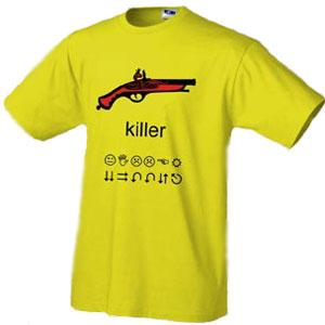 Футболка Killer