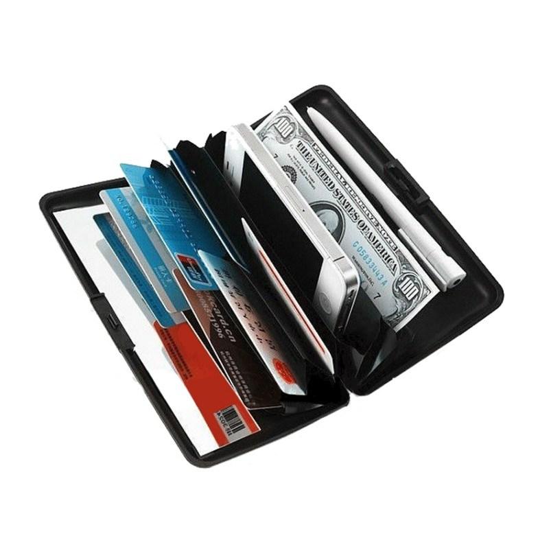 Алюминиевый бумажник RFIDSAFE