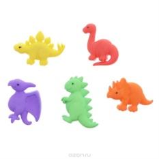 Декоративные пуговицы Dress It Up Динозавры, 5 шт
