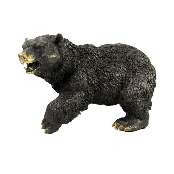 Бронзовая статуэтка Медведь малый