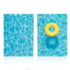 Обложка для паспорта Pool
