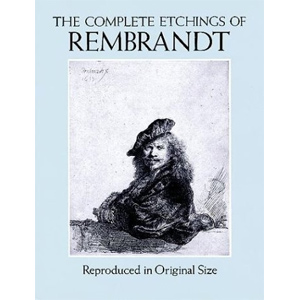 Книга Etchings of Rembrandt