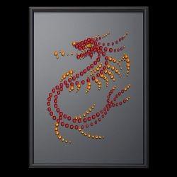 Картина Огненный дракон