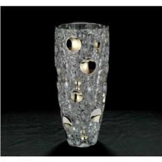 Хрустальная ваза для цветов Серебряные Огни