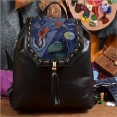 Женский кожаный рюкзак ручной работы Русалка