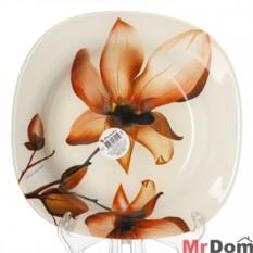 Глубокая тарелка из упрочненного стекла Орхидс
