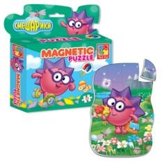 Магнитные пазлы в коробке Ёжик