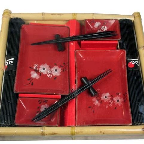 Набор для суши на 2 персоны на подносе