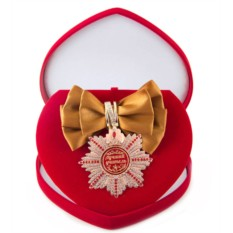 Большой орден с бронзовой лентой Лучший учитель