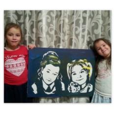 Детский набор для рисования по фото