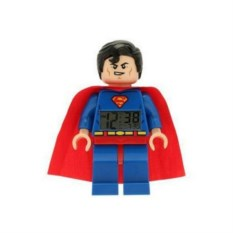 Будильник Лего Супер Герои, минифигура Супермэн