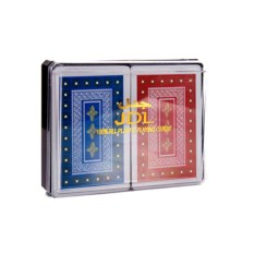 Набор игральных карт для покера из 2 колод в боксе
