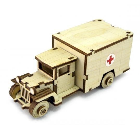 3D конструктор Советский грузовик ЗИС-5м