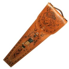 Набор с шампурами с деревянной рукоятью Подарочный люкс