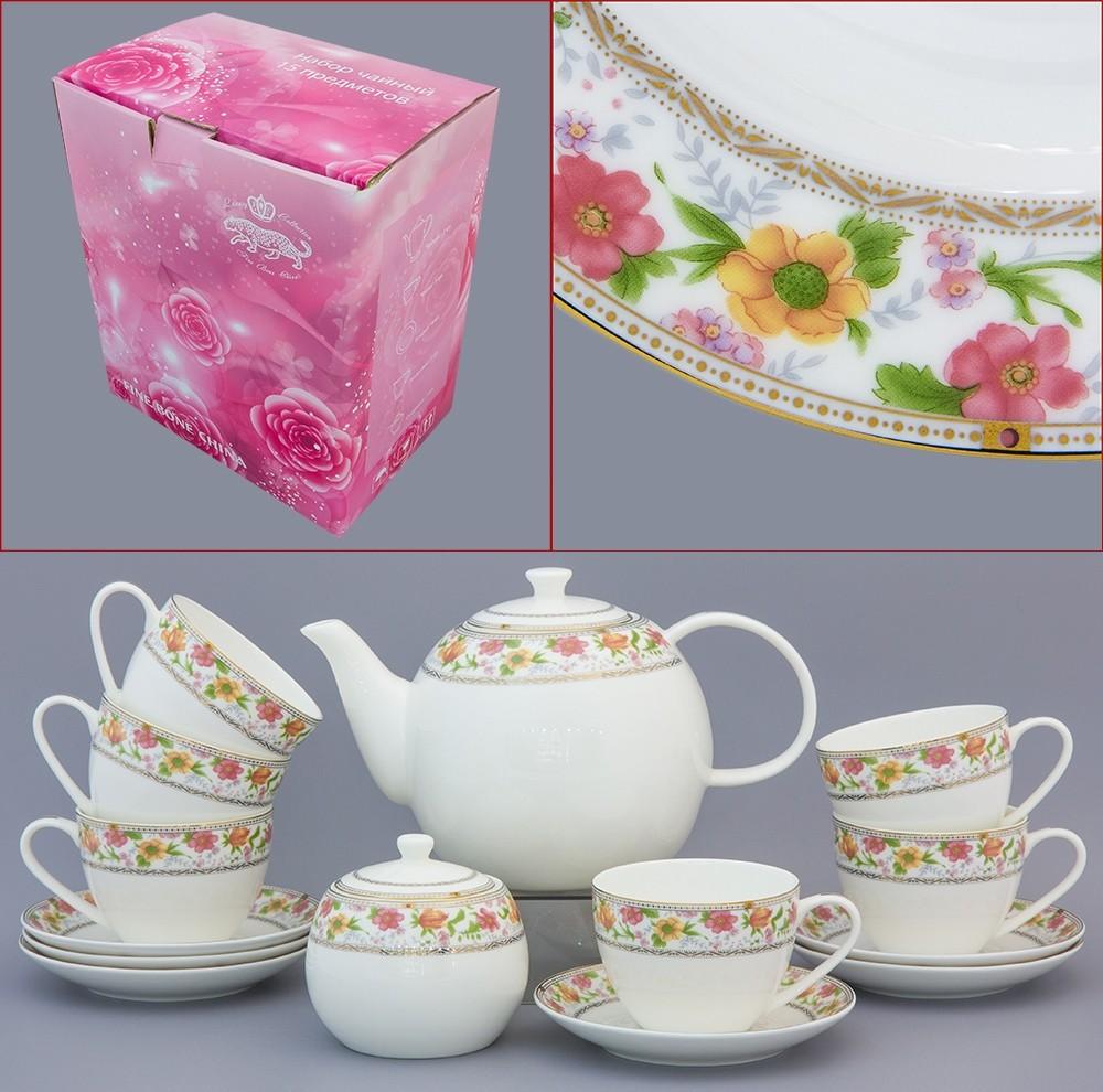 Чайный сервиз Праздник цветов