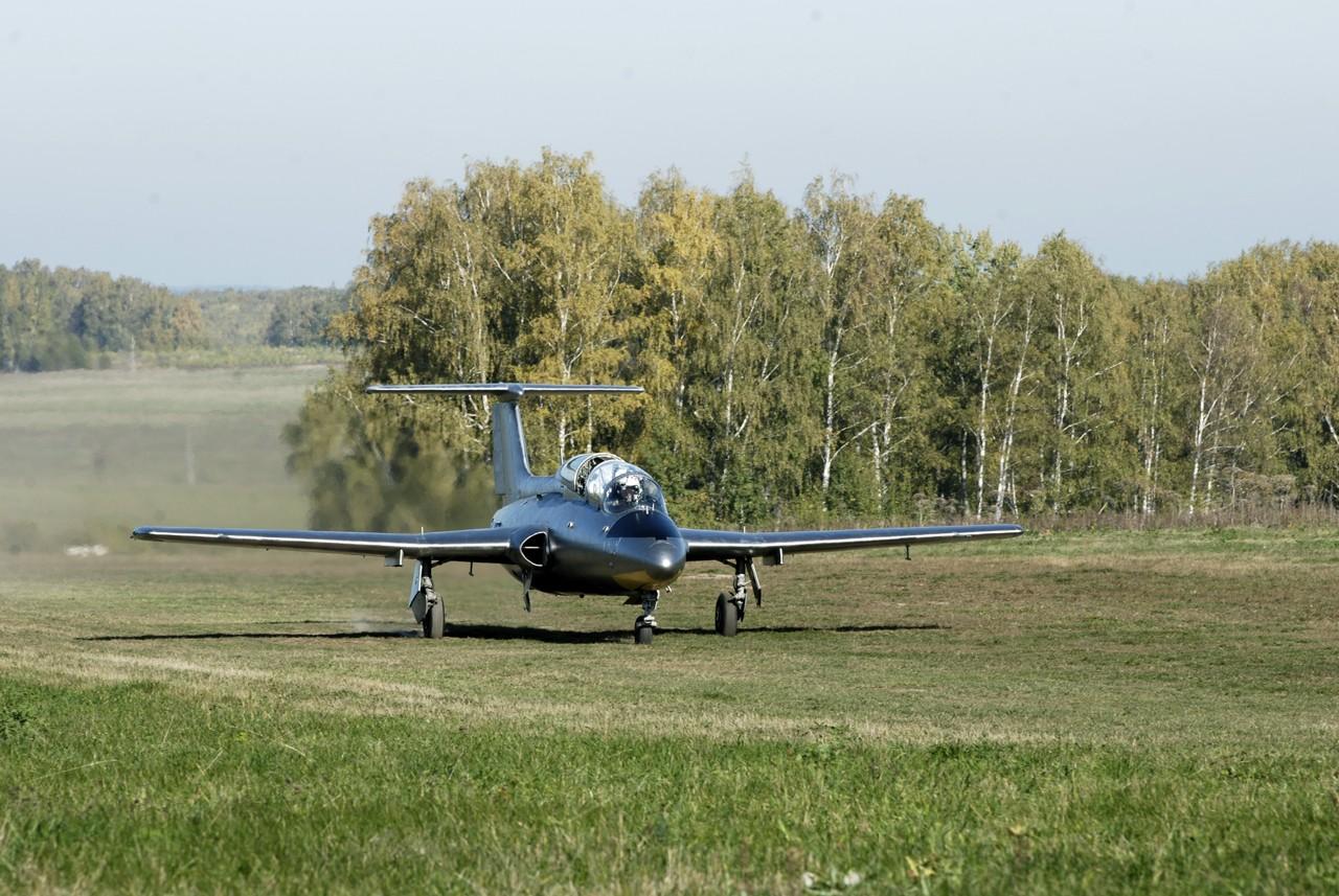 Полет на реактивном самолете Л-29