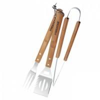 Набор для барбекю с деревянными ручками