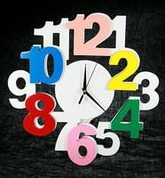 Часы настенные Радуга