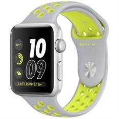 Apple Watch Nike 42mm Silver Aluminum