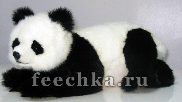 Игрушка Лежачий детеныш панды, Hansa