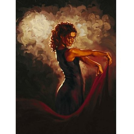 Картина «Танец страсти»