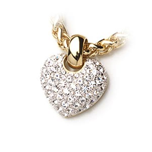 Кулон «Кристальное сердце»