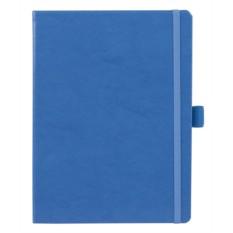 Голубая записная книжка FreeColor в клетку