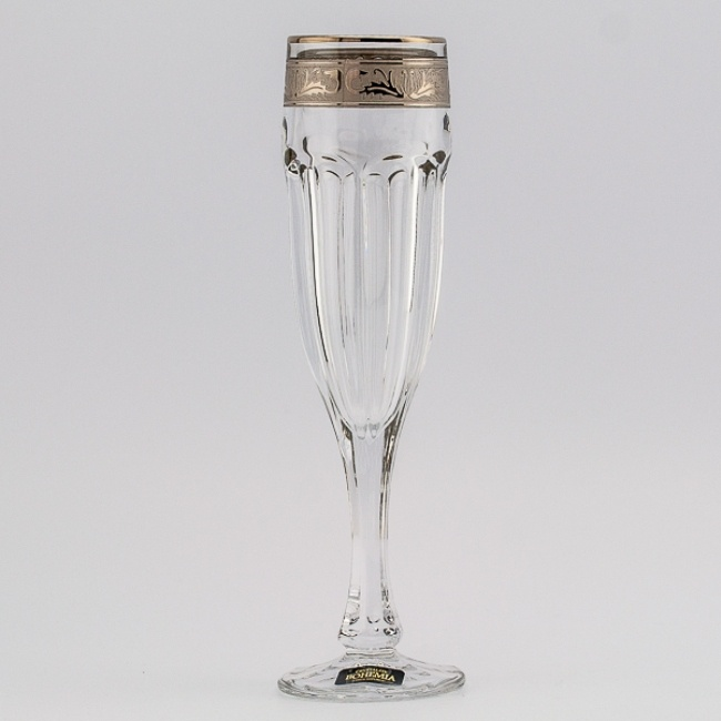 Набор 6 фужеров для шампанского Crystalite Bohemia Сафари