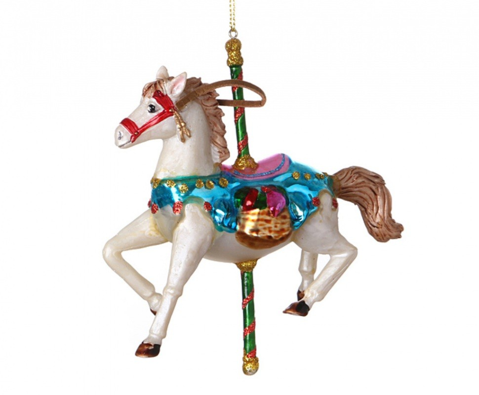 Ёлочное украшение Лошадка