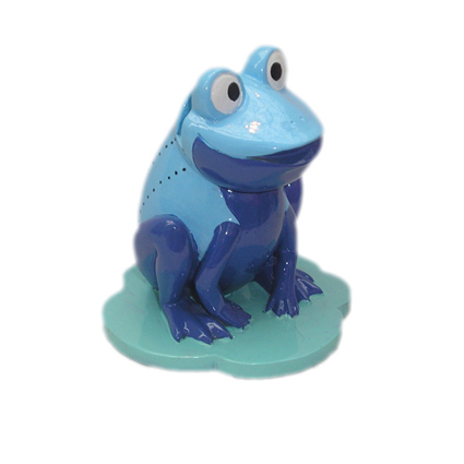 Подставка под очки Голубая лягушка
