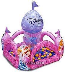 Игровой замок Принцесса, с 50 мячами, Moose Mountain