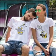 Парные футболки «Рыбка моя»