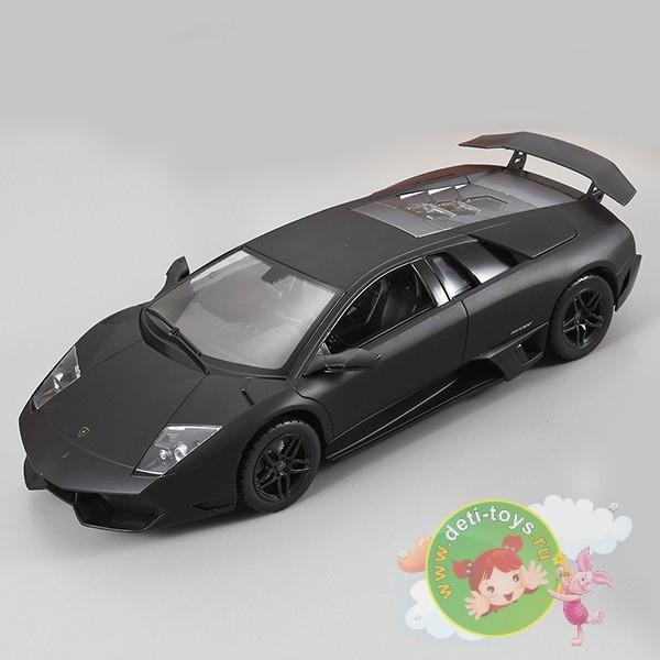 Радиоуправляемая черная машина Ламборджини LP670