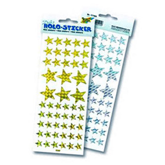 Голографические стикеры «Звезда»