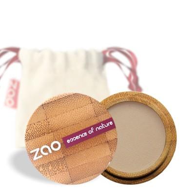 Матовые тени для век 202 (бежево-коричневый) zao