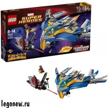 Конструктор Спасение космического корабля Милано Lego